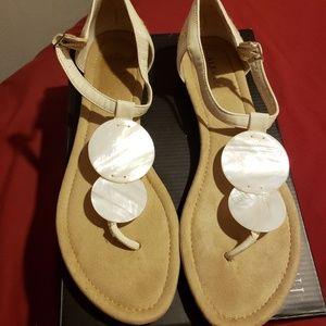 Size 10 unique sandals